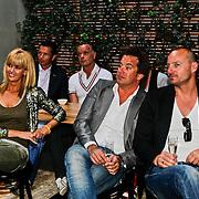 """NLD/Amsterdam/20100614 - Boekpresentatie Daphne Deckers """" Laat Maar Waaien"""", Daphne Deckers , Micheal Lingg en een vriend"""