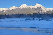 Kootenay River and the MItchell Range (Canadian Rocky Mountains), Kootenay National Park, British Columbia, Canada