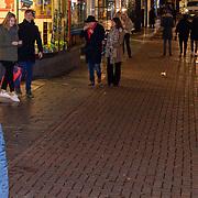 NLD/Amsterdam/20200210 -  inloop Premiere  De beentjes van Sint-Hildegard, Yom van het Hek en partner Debbie Petter