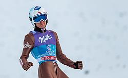 01.01.2018, Olympiaschanze, Garmisch Partenkirchen, GER, FIS Weltcup Ski Sprung, Vierschanzentournee, Garmisch Partenkirchen, Wertungsdurchgang, im Bild Kamil Stoch (POL) // Kamil Stoch of Poland during his Competition Jump for the Four Hills Tournament of FIS Ski Jumping World Cup at the Olympiaschanze in Garmisch Partenkirchen, Germany on 2018/01/01. EXPA Pictures © 2018, PhotoCredit: EXPA/ JFK