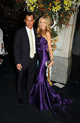 MATTHEW MELLON and NOELLE RENO at the Fortune Forum Dinner held at Old Billingsgate, 1 Old Billingsgate Walk, 16 Lower Thames Street, London EC3R 6DX<br /><br />NON EXCLUSIVE - WORLD RIGHTS