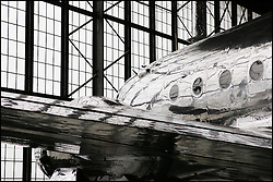 Franklin Delano Roosevelt's presidential aircraft is housed in the U.S. Air Force Museum's Presidential Hangar at Wright-Patterson Air Force Base in Dayton, OH.