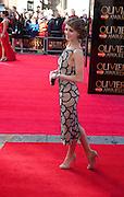 KARA TOINTON, Olivier Awards 2012, Royal Opera House, Covent Garde. London.  15 April 2012.
