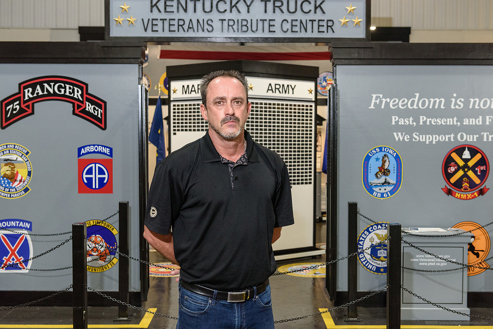 Todd Dunn, president of UAW Local 862, photographed Friday, June 28, 2019 at the Ford Motor Company's Kentucky Truck Plant at 3001 Chamberlain Lane in Louisville, Ky., for Automotive News. (Photo by Brian Bohannon)