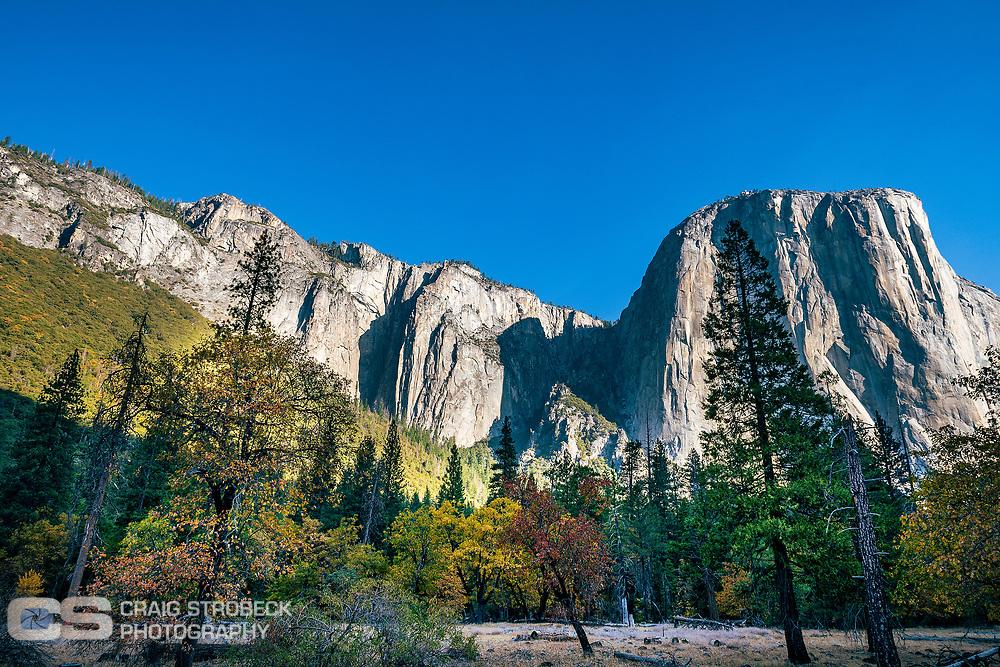 Yosemite photo trip November 2020. El Capitan.