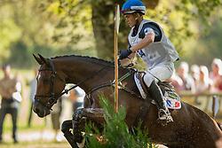 Leroy Aurelien (FRA) - Uccla du Leou<br /> Cross country 6 years old horses<br /> Mondial du Lion - Le Lion d'Angers 2014<br /> © Dirk Caremans<br /> 18/10/14