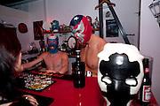 BAR STAFF; LEON BRITTANIO; BRADFORD W. BUSH, ÒIconography of maskÓ A multimedia exhibition at the Resistance Gallery. 265 Poyser Street<br /> Bethnal Green. 30 July 2009<br /> BAR STAFF; LEON BRITTANIO; BRADFORD W. BUSH, ?Iconography of mask? A multimedia exhibition at the Resistance Gallery. 265 Poyser Street<br /> Bethnal Green. 30 July 2009
