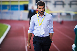 Luka Elsner, head coach of NK Domzale during football match between NK Domzale and FC Lusitanos Andorra in first match of UEFA Europa League Qualifications, on June 30, 2016 in Sports park Domzale, Domzale, Slovenia. Photo by Ziga Zupan / Sportida