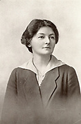 Margaret Bondfield (1873-1953) English Labour politician. First British woman cabinet minister; chairman of the Trades Union Congress 1923. Halftone.