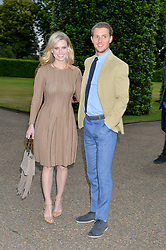 ALICE EVE and ALEX COWPER-SMITH at The Ralph Lauren & Vogue Wimbledon Summer Cocktail Party at The Orangery, Kensington Palace, London on 22nd June 2015.  The event is to celebrate ten years of Ralph Lauren as official outfitter to the Championships, Wimbledon.