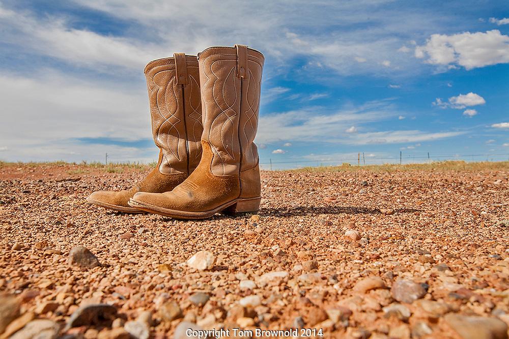 Anne's cowboy boots
