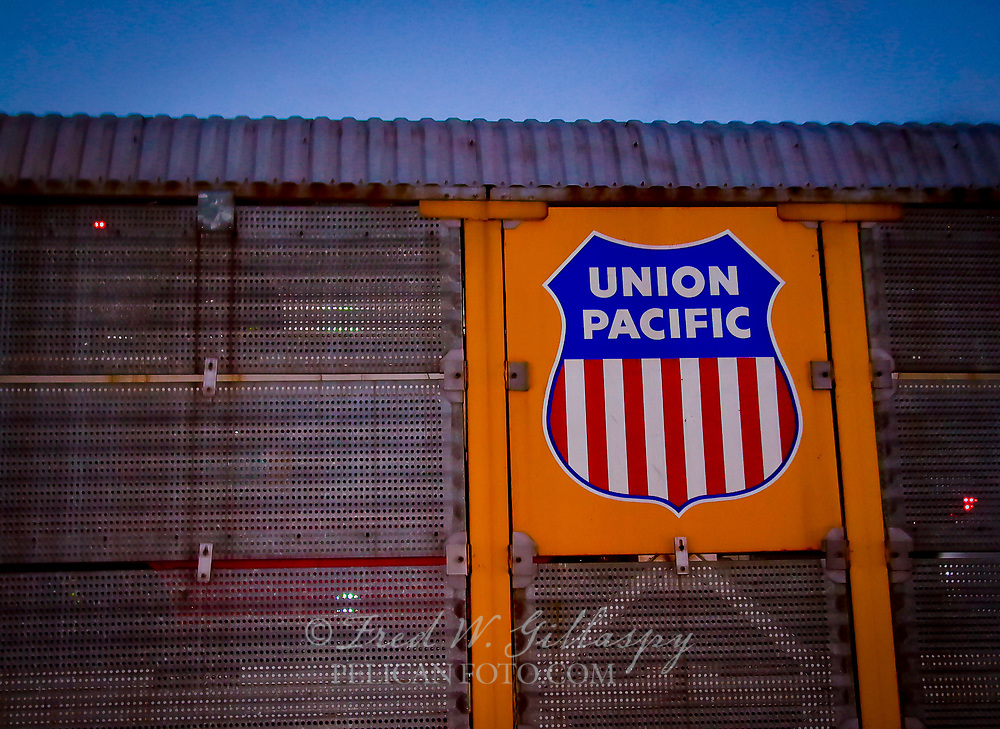 UP Freight Eastbound Through Truckee California