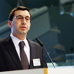 20150226 - Brussels - Belgium - 26 February 2015 -  Heating and cooling in the European energy  transition conference - Heating and Cooling for industry - Nicola Rega , Climate Change & Energy Manager , confederation of European Paper Industries ( CEPI )   © EC/CE - Patrick Mascart