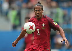 June 24, 2017 - Saint Petersburg, Russia - Bruno Alves of the Portugal national football team vie for the ball during the 2017 FIFA Confederations Cup match, first stage - Group A between New Zealand and Portugal at Saint Petersburg Stadium on June 24, 2017 in St. Petersburg, Russia. (Credit Image: © Igor Russak/NurPhoto via ZUMA Press)