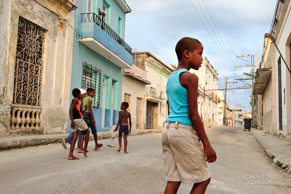Everyday life in the streets of Havana