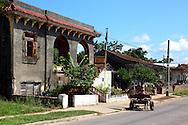 Street in San Miguel de los Banos, Matanzas, Cuba.