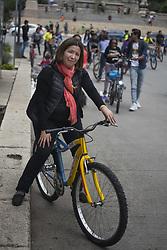 September 10, 2017 - Mexico City, Mexico City, MX - Rosana Urina, 55.Psychologist.Tourist from Bolivia (Credit Image: © Joel Alvarez via ZUMA Wire)