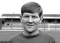 Sammy Pavis, footballer, LInfield FC, Belfast, N Ireland, August, 1967, 196708000063<br /> <br /> Copyright Image from Victor Patterson, 54 Dorchester Park, Belfast, UK, BT9 6RJ<br /> <br /> t: +44 28 9066 1296<br /> m: +44 7802 353836<br /> vm +44 20 8816 7153<br /> <br /> e1: victorpatterson@me.com<br /> e2: victorpatterson@gmail.com<br /> <br /> www.victorpatterson.com<br /> <br /> IMPORTANT: Please see my Terms and Conditions of Use at www.victorpatterson.com