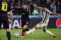 Erik Lamela Tottenham, Sami Khedira Juventus <br /> Torino 13-02-2018 Juventus Stadium  Football Champions League 2017/2018 Juventus - Tottenham . Foto Andrea Staccioli / Insidefoto