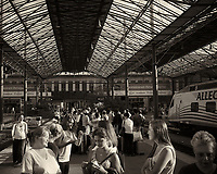 Field Trip to Rovaniemi. Waiting for the Train. Image taken with a Leica X2 Camera.