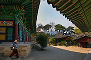 Beomeosa buddhist temple complex.
