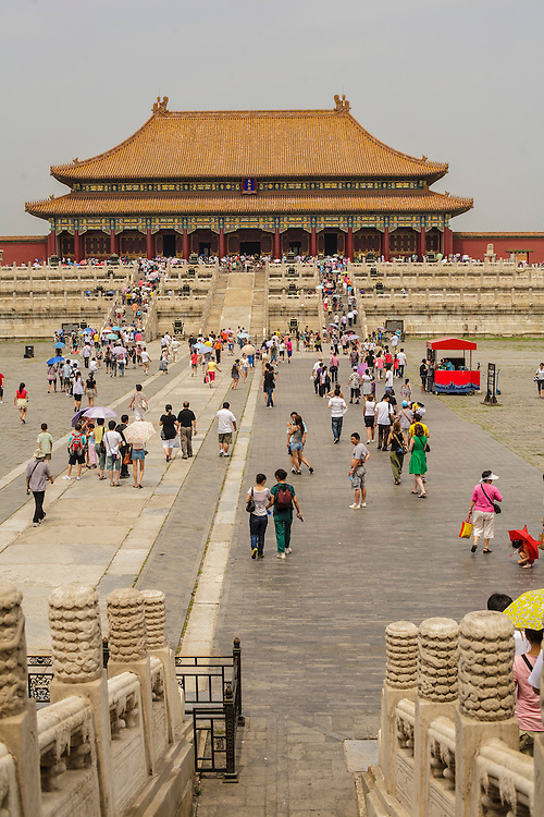 A view of one of the Forbidden City.