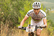 Nino Schurter of team SCOTT-Odlo MTB racing during stage 1 of the 2014 Absa Cape Epic Mountain Bike stage race held from Arabella Wines in Robertson, South Africa on the 24 March 2014<br /> <br /> Photo by Greg Beadle/Cape Epic/SPORTZPICS