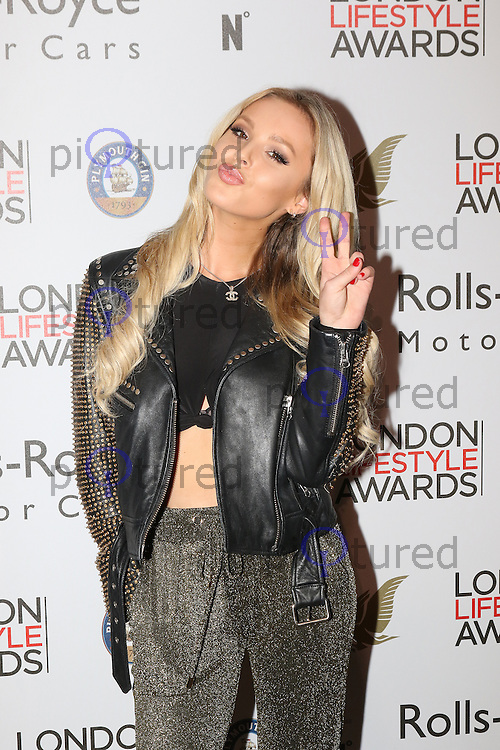 Betsy-Blue English, London Lifestyle Awards, Lancaster London Hotel UK, 03 October 2016, Photo by Richard Goldschmidt