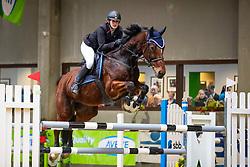 Berkers Dorien, BEL, Argos van Hof ter Nailen<br /> Klasse Zwaar<br /> Nationaal Indoor Kampioenschap Pony's LRV <br /> Oud Heverlee 2019<br /> © Hippo Foto - Dirk Caremans<br /> 09/03/2019