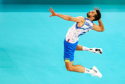 Mitja Gasparini #6 (SLO) during volleyball match between National teams of Slovenia and Russia in quaterfinals of 2019 CEV Volleyball Men's European Championship in Ljubljana, on September 23, 2019 in Arena Stozice. Ljubljana, Slovenia. Photo by Matic Klansek Velej / Sportida