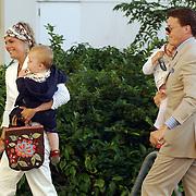 NLD/Den Haag/20050626 - Geboorte prinses Alexia, 2de dochter prinses Maxima Zorreguieta en prins Willem Alexander, prinses Laurentien en zoon Claus-Casimir, prins Constantijn en dochter Eloise