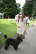 KOO STARK AND DOLLY,  Sixth Macmillan Dog Day for Macmillan Cancer Support, Supported by Savills. Royal Hospital Chelsea, London, SW3. 3 July 2007. -DO NOT ARCHIVE-© Copyright Photograph by Dafydd Jones. 248 Clapham Rd. London SW9 0PZ. Tel 0207 820 0771. www.dafjones.com.