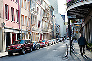 A street in New Orleans, Louisiana.