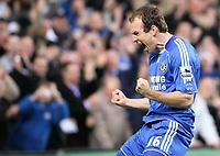 Robben of Chelsea celebrates his goal