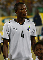 Photo: Steve Bond/Richard Lane Photography.<br />Ghana v Namibia. Africa Cup of Nations. 24/01/2008. John Pantsil of Ghana an west ham