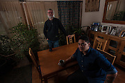 COLUMBIA, MD -- 12/20/14 -- Mark Johnson-Lewis, 48, and his son, Tyler Lewis, 22, talk about the complexity of being a biracial family..…by André Chung #_AC17513