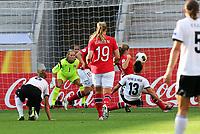 Fotball , EM , Tyskland - Norge 17.juli 2013 , kvinner ,  Sverige , Kalmar , europamesterskap<br /> Maren Mjelde<br /> <br /> Foto: Ole Marius Fjalsett