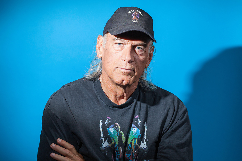 Jesse Ventura photographed in the Business Insider studios, 2016