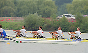 St Catherines, CANADA,  GER M4X Gold Medalist, Bow; Marco GEISLER,  Andreas HAJEK, Stephan VOLKERT and Andre WILLMS, competing at the 1999 World Rowing Championships - Martindale Pond, Ontario. 08.1999..[Mandatory Credit; Peter Spurrier/Intersport-images]   ... 1999 FISA. World Rowing Championships, St Catherines, CANADA