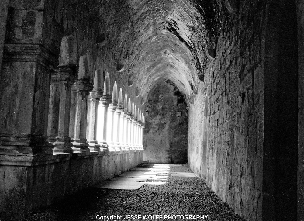 Quin Abbey in County Galway, Ireland
