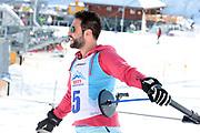 Sandro Cavegn, Teilnehmer beim Renzo's Schneeplausch vom 23. Januar 2016 in Vella, Gemeinde Lumnezia.