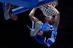 November 8, 2017 - Saint Petersburg, Russia - Marko Simonovic of Zenit St. Petersburg vie for the ball during the EuroCup Round 5 regular season basketball match between Zenit St. Petersburg and Tofas Bursa at the Yubileyny Sports Palace in St. Petersburg, Russia, November 08, 2017. (Credit Image: © Igor Russak/NurPhoto via ZUMA Press)
