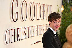 Alex Lawther attending the world premiere of Goodbye Christopher Robin at the Odeon in Leicester Square, London. See PA story SHOWBIZ Goodbye. Picture Date: Wednesday 20 September. Photo credit should read: Ian West/PA Wire