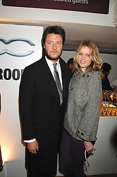 Model EVA HERZIGOVA and GREGORIO MARSIAJ at a party to celebrate the launch of the new Fiat 500 car held at the London Eye, Westminster Bridge Road, London on 21st January 2008.<br /> <br /> NON EXCLUSIVE - WORLD RIGHTS (EMBARGOED FOR PUBLICATION IN UK MAGAZINES UNTIL 1 MONTH AFTER CREATE DATE AND TIME) www.donfeatures.com  +44 (0) 7092 235465