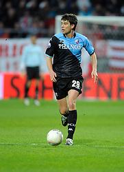 03-04-2010 VOETBAL: AZ - FC UTRECHT: ALKMAAR<br /> FC utrecht verliest met 2-0 van AZ / Jan Wuytens<br /> ©2009-WWW.FOTOHOOGENDOORN.NL