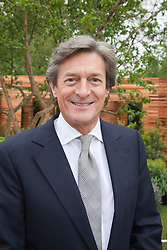 © Licensed to London News Pictures. 21/05/2012. London, England. Actor Nigel Havers. RHS Celsea Flower Show 2012 - Press Day. Photo credit: Bettina Strenske/LNP