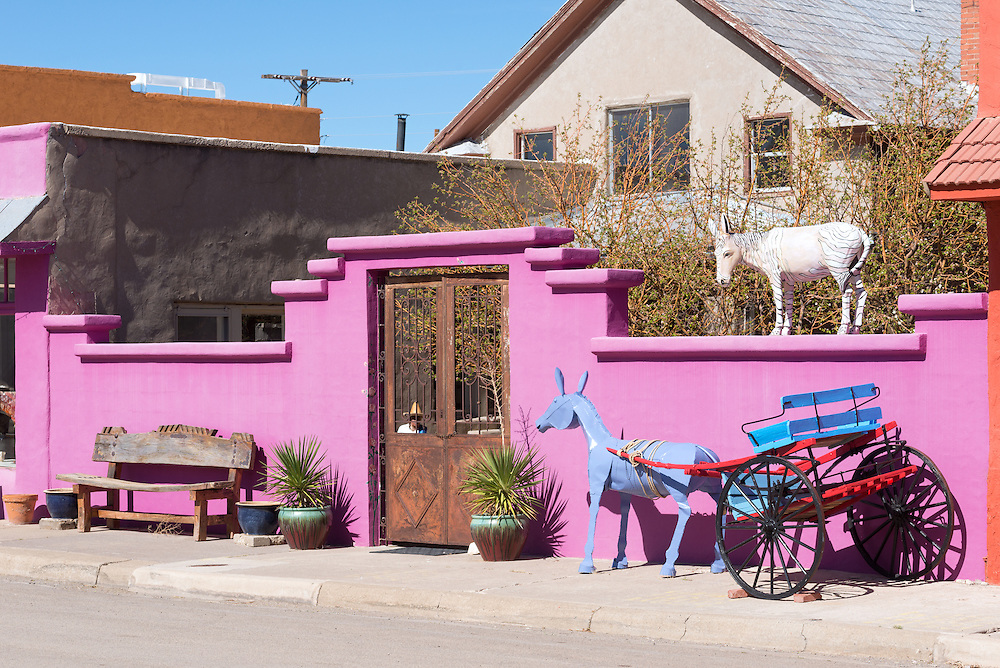 Carrizozo New Mexico, a town with a growing arts community.
