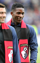 New Bournemouth signing Jefferson Lerma is presented to the fans before the Premier League match at the Vitality Stadium, Bournemouth.