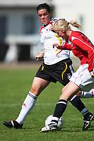 STAVANGER, NORWAY - JUNE 26 : Stephanie Goddard  - June Taarnes U20 women international friendly match between Norway and Germany at the klepp stadium  on June 26, 2008 in Stavanger, Norway. (Photo by Sigbjoern Anderas Hofsmo, Digitalsport, Bongarts/Getty Images for DFB)