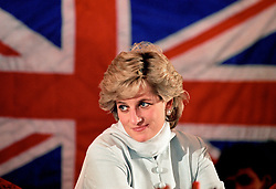 """Embargoed to 0001 Monday August 21 File photo dated 22/02/96 of Diana, Princess of Wales whose warmth, compassion and empathy for those she met earned her the description the """"people's princess""""."""